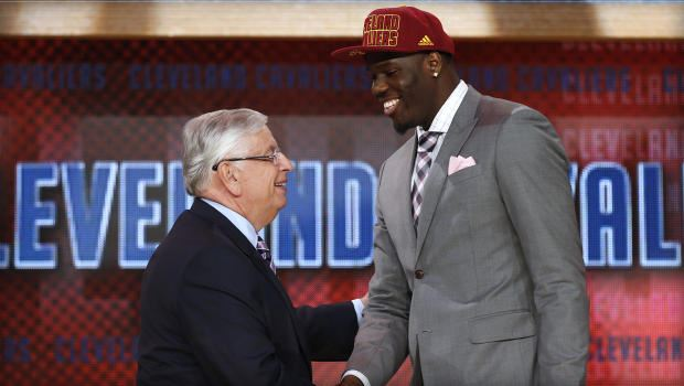 Anthony Bennett as tonight's #1 pick was the first of many surprises. (Photo: AP/Jason DeCrow)