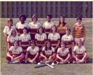 Seminole Softball would not be where it is today without Dr. Graf's contributions, pictured here (top left) in 1980.