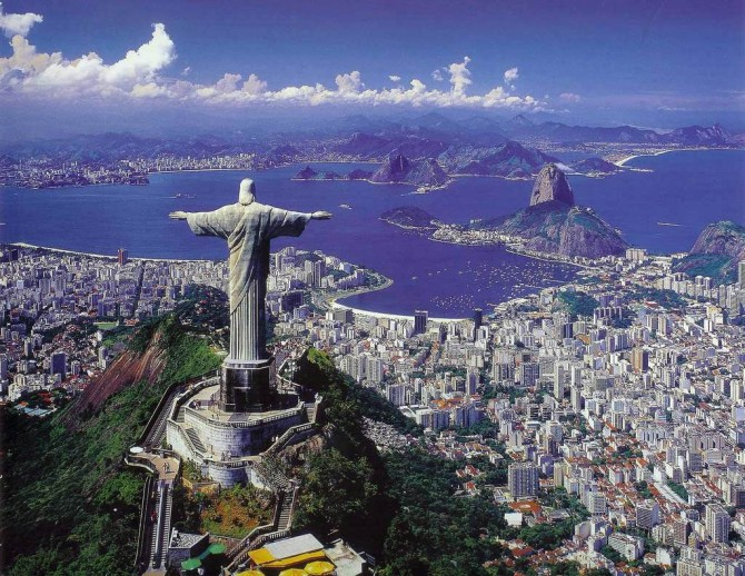 More than a few postcards will be sent back to the United States from this gorgeous Rio De Janerio locale next summer!