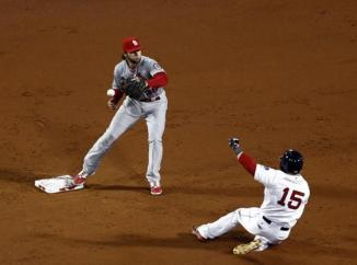 Kozma will forever wonder what would have happened if he made this catch.